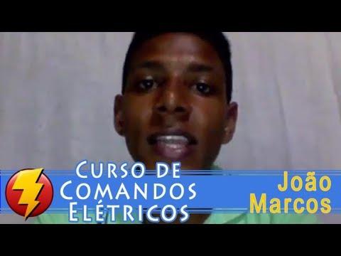 Curso de comandos elétricos – Depoimento João Marcos