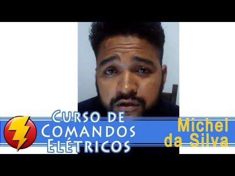 Curso de comandos eletricos Depoimento Michel da Silva