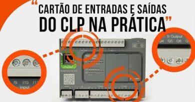 Como são realizadas as conexões das entradas e saídas do CLP – Na Prática