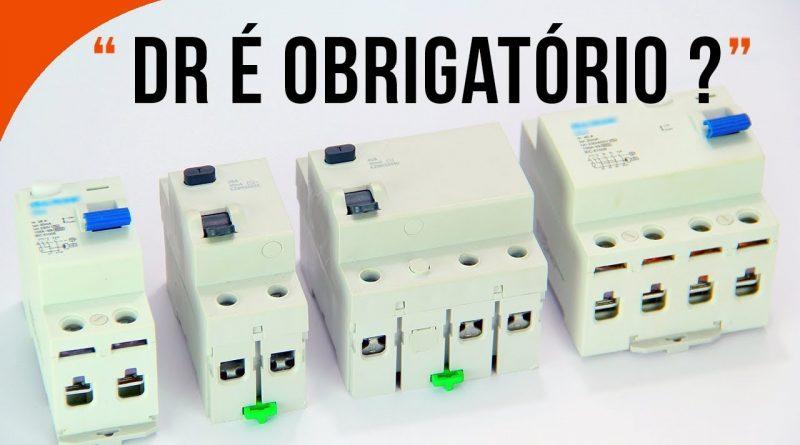 DR obrigatorio para eletricistas