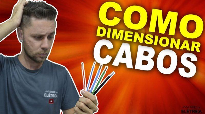 dimensionando cabos eletricos