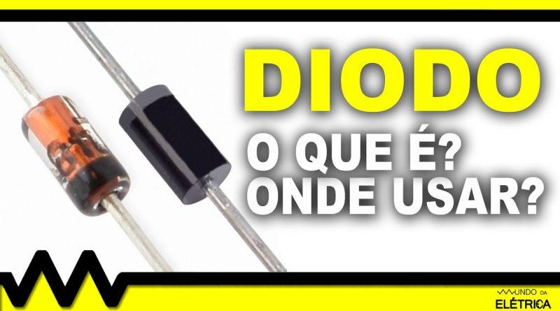 Como utilizar o diodo