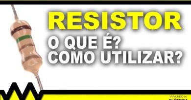 Como utilizar um resistor
